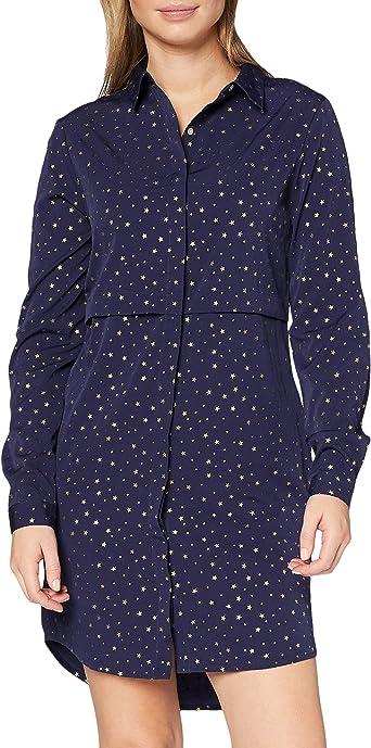 Marca Amazon - find. Vestido Camisero para Mujer