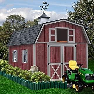 Best Barns Woodville 10' X 16' Wood Shed Kit