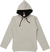GOODTRY G Boy's Cotton Hoodies with Pocket Grey Melange