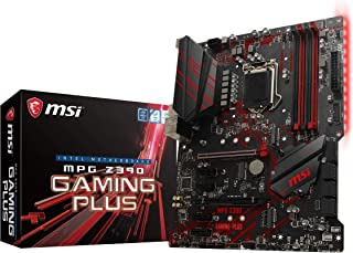 MSI MPG Z390 Juego Plus ATX Juegos [Intel Z390 chipset] MB4616