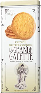 La Grande Galette French Butter Cookies (no Tin Box)