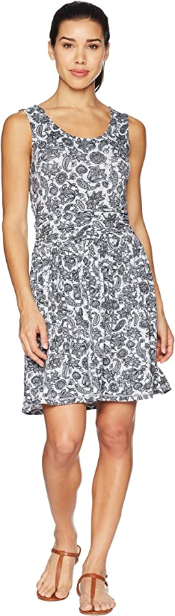 White Sierra Tangier Odor Free Printed Dress