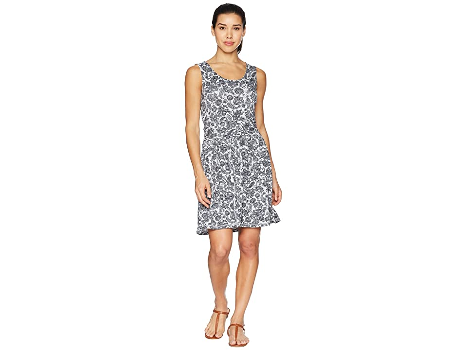 White Sierra Tangier Odor Free Printed Dress (Black) Women