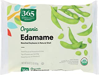 365 by Whole Foods Market, Frozen Organic Vegetables, Edamame, 16 Ounce