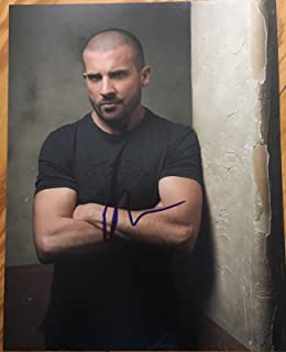 dominic purcell autograph