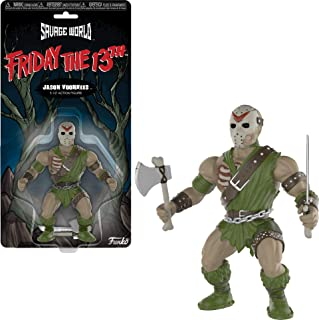 Funko 30439 Savage World: Friday The 13th: Jason, Multi