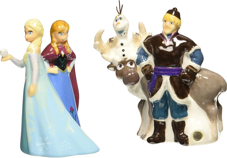 Westland Giftware Disney Frozen Max 74% OFF Magnetic Pepper Salt S half Ceramic