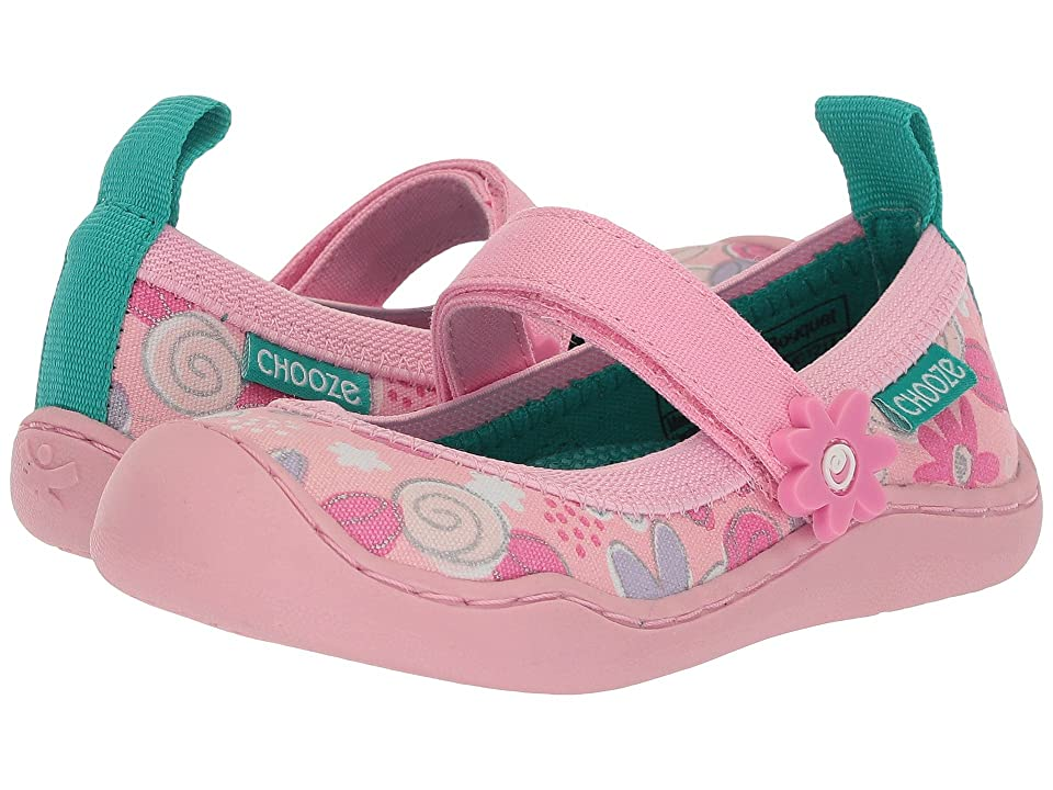 CHOOZE Steady (Toddler/Little Kid) (Bouquet) Girls Shoes