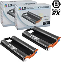 LD Compatible Fax Cartridge with Roll Replacement for Brother PC301 (2-Pack)