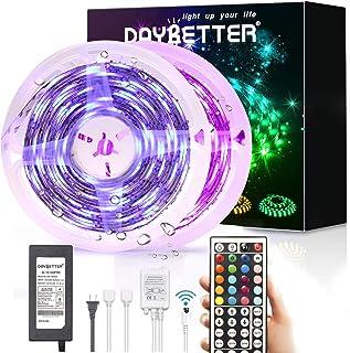 Led Strip Lights Waterproof, DAYBETTER 32.8ft LED Tape Lights Color Changing LEDs Light..