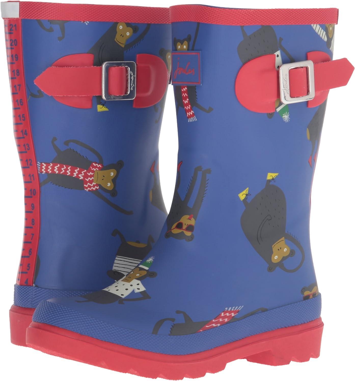 Toddler//Little Kid//Big Kid Joules JNR Boys Welly Rain Boot