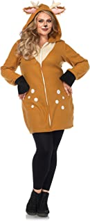 Plus Size Cozy Fawn Costume - 6X Brown