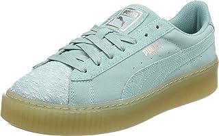 Puma Suede Platform Pebble Shoes For Women