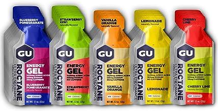 GU Energy Roctane Ultra Endurance Energy Gel, Assorted Flavors, 24-Count
