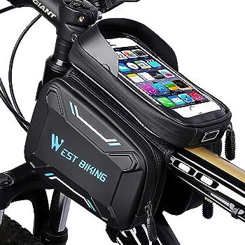 ROCKBROS Oberrohrtasche Fahrrad Rahmentasche Handytasche Touchscreen Vorne Neu