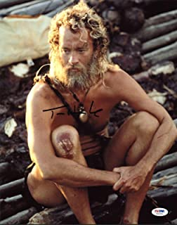 Tom Hanks Cast Away Signed 11X14 Photo Autographed #X44304 - PSA/DNA Certified