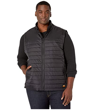 Timberland PRO Extended Mt. Washington Insulated Vest (Jet Black) Men