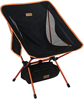 Trekology Compact Portable Silla de Camping con Altura Ajust