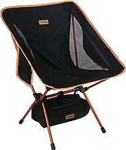 Trekology YIZI GO Campingstuhl kompakt – Outdoorstuhl faltbar, kleiner, ultraleichter und klappbarer Campingstuhl in einer...