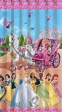 Homecrust Fabric 3D Curtain Elegant Curtain Barbie World (White)