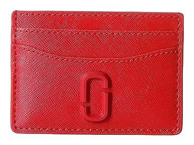 Marc Jacobs Snapshot DTM Card Case (Geranium) Credit card Wallet