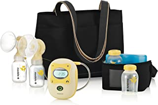 Medela Freestyle Mobile Double Electric Breast Pump, Hands Free Breast Pump, Digital Display with Memory Button, Rechargeable Battery, Lightweight, 2 Sizes of Breast Shields