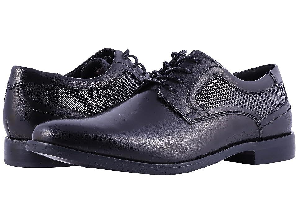 Rockport Style Purpose Perf Plain Toe (Black) Men