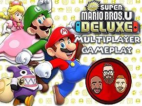 New Super Mario Bros U Deluxe Multiplayer Gameplay