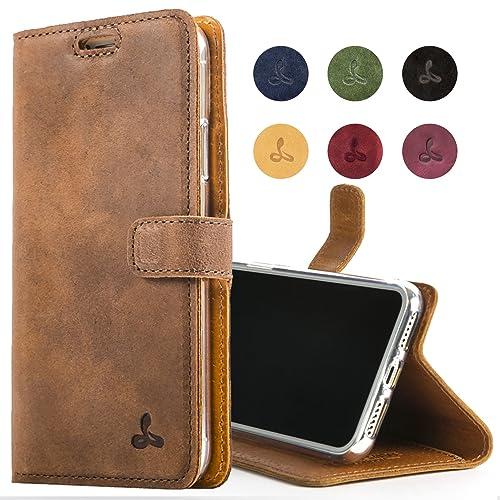 the best attitude 9c5f7 fa7d1 Leather iPhone 7 Cases: Amazon.com
