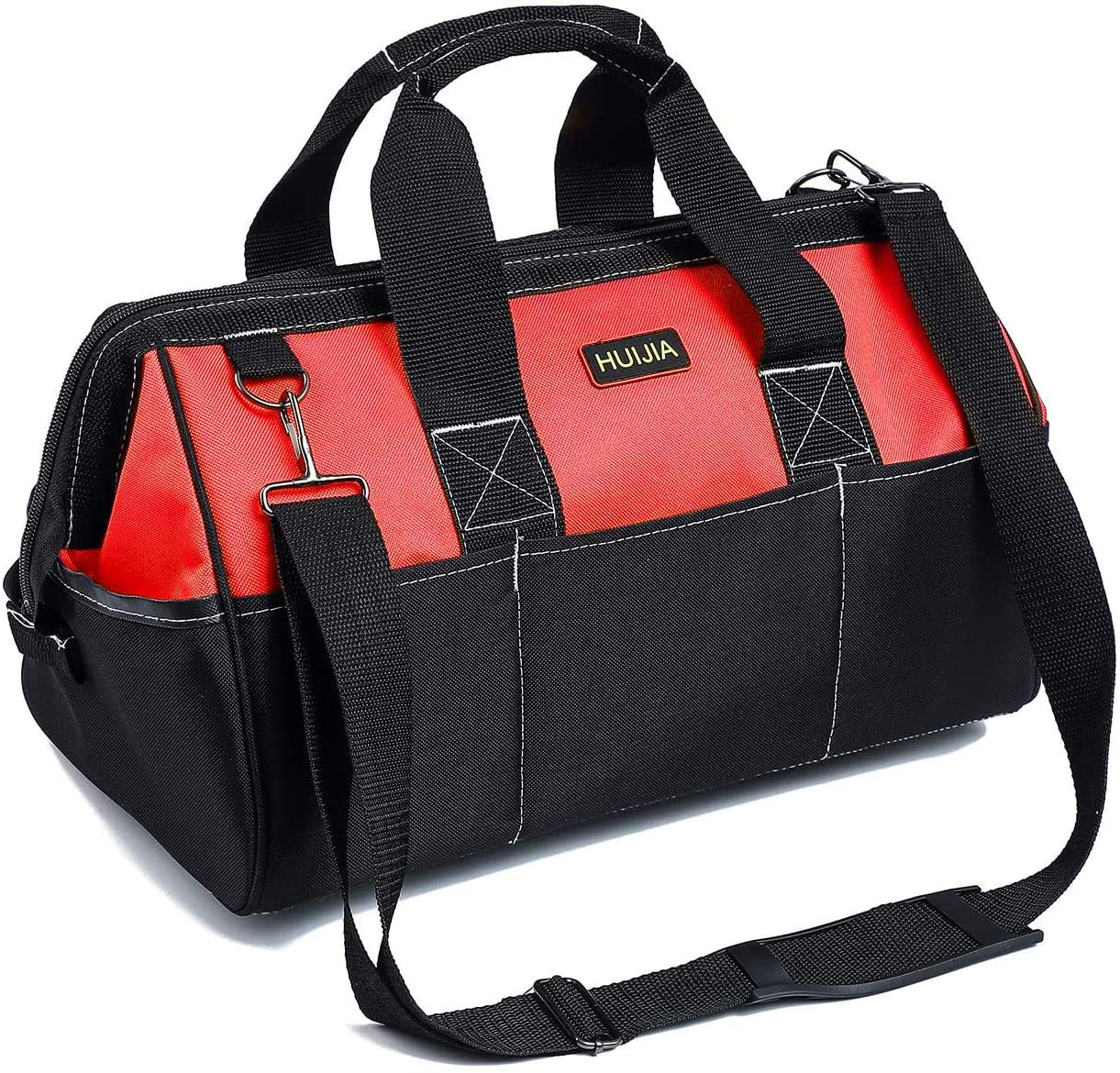 HUIJIA 17-inch Tool Organizer Bags Manufacturer Seattle Mall OFFicial shop Wide Resistant Mouth He Water