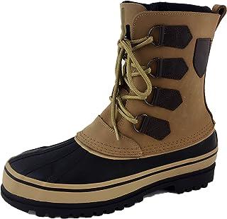 حذاء برقبة شتوية من لابو ضد الماء على شكل بطة ثلج
