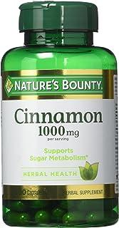 Nature's Bounty Cinnamon 1,000 mg Caps, 100 ct