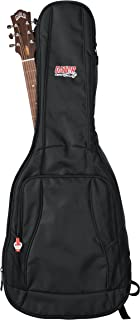 Gator Cases 4G Series Gig Bag For Acoustic Guitars with Adjustable Backpack Straps; Fits Most Dreadnaught Style Acoustic Guitars (GB-4G-ACOUSTIC)