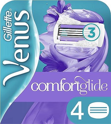 Gillette Venus Breeze women's razor blade refills, 4 count