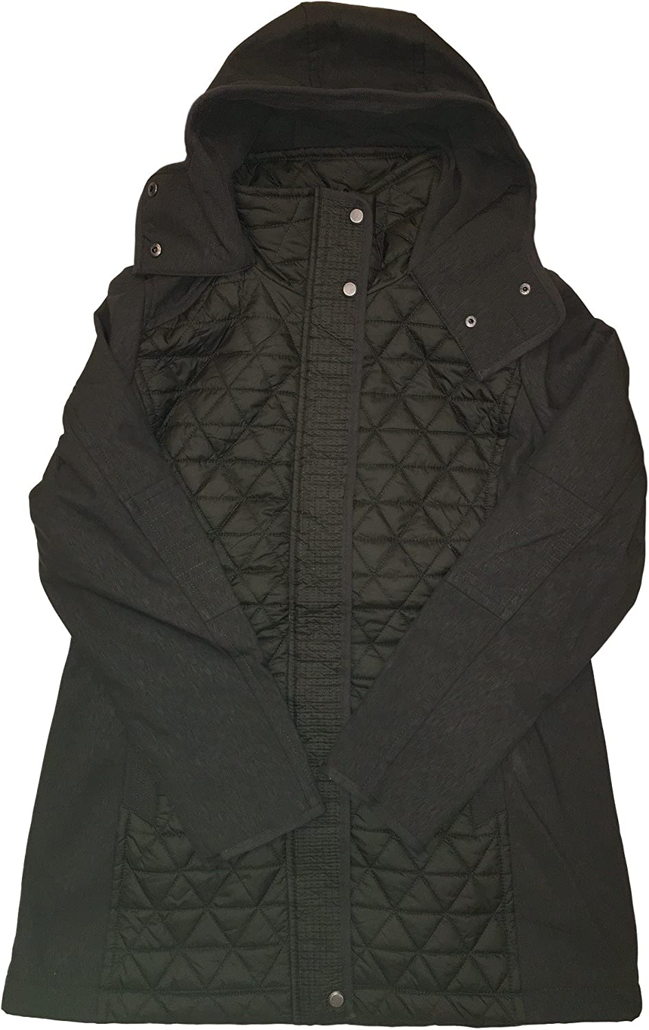 Marc New York Ladies Quilted Jacket Large, Green