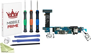 MobilePrime Charging Port Replacement Kit Compatible for Samsung Galaxy S6 (G920P) Including Pro-Series Repair Tools