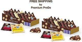 Mini Nut-Mix - Chocolate Variety 2 x 116 g, Ritter Sport/Germany