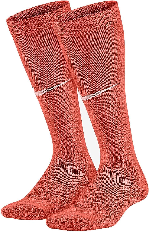 Nike Kids Graphic Lightweight Cotton Knee High Toddler/Little Kid/Big Kid Max Orange/Bright Melon Girls Shoes