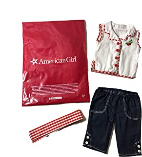 American Girl Mary Ellen Cherry Outfit for 18 Inch Dolls Play Clothes