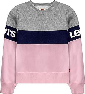 Levi's Girls' Big Crewneck Sweatshirt