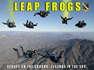 Navy Leap Frogs Poster Skydiving Poster Sky Diving Skydive Navy Poster 24x36