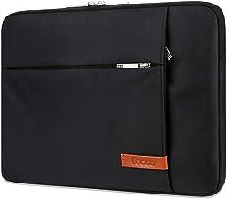 "کیف آستین لپ تاپ Lacdo 12.9 اینچ سازگار 13 اینچی نوار لمسی MacBook Pro 13 ""جدید A1989 A1706 A1708 | 2018 MacBook Air Retina A1932 | XPS 13 | Surface Pro 2017 ضد آب ضد آب USB-C کیسه نوت بوک ، سیاه"