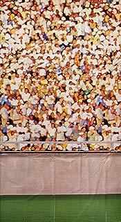 Beistle 52095 Lower Deck Stadium Backdrop, Multicolored