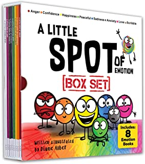 A Little SPOT of Emotion 8 Book Box Set (Books 1-8: Anger, Anxiety, Peaceful, Happiness, Sadness, Confidence, Love, & Scri...