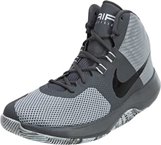 Nike Men's Air Precision Basketball Shoes (10.5, Wolf Grey/Black-M)