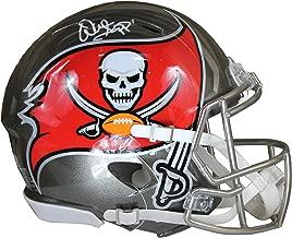 Warren Sapp Autographed Tampa Bay Buccaneers Gold Riddell Speed ProLine Full Size Helmet w/Beckett COA