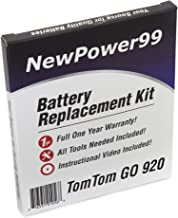 Best tomtom 920 battery replacement Reviews