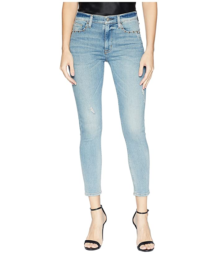 d3bd8fa9c24 Hudson Jeans Barbara High-Waist Super Skinny Crop Jeans in Dangerous Wild  Nothing