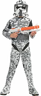 Rubies Star Wars Clone Wars Child's Arf Trooper Costume and Mask, Large
