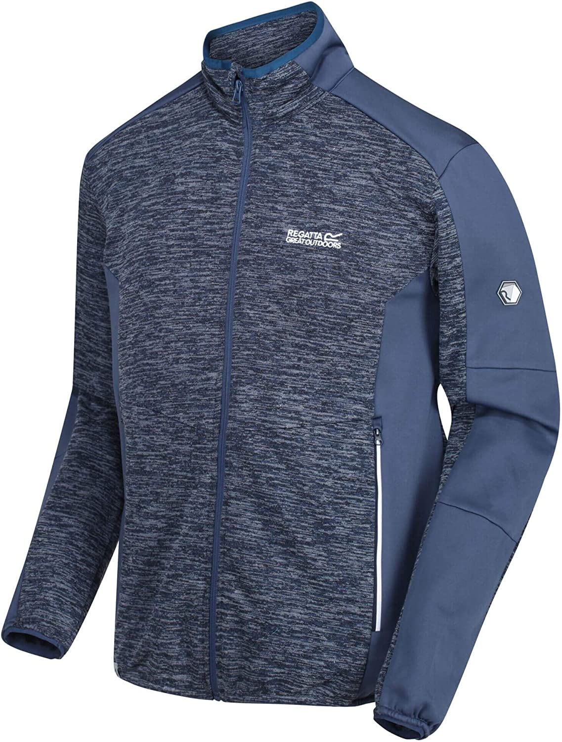 Regatta Coladane Stretch Inserts Softshell Jacket with Zipped Pockets Polaire Homme